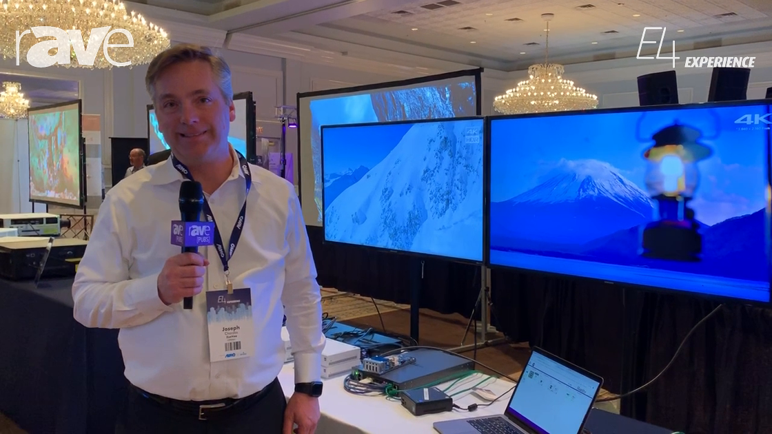 E4 Experience: ZeeVee Gives Brief Overview of Its AV-over-IP Solutions