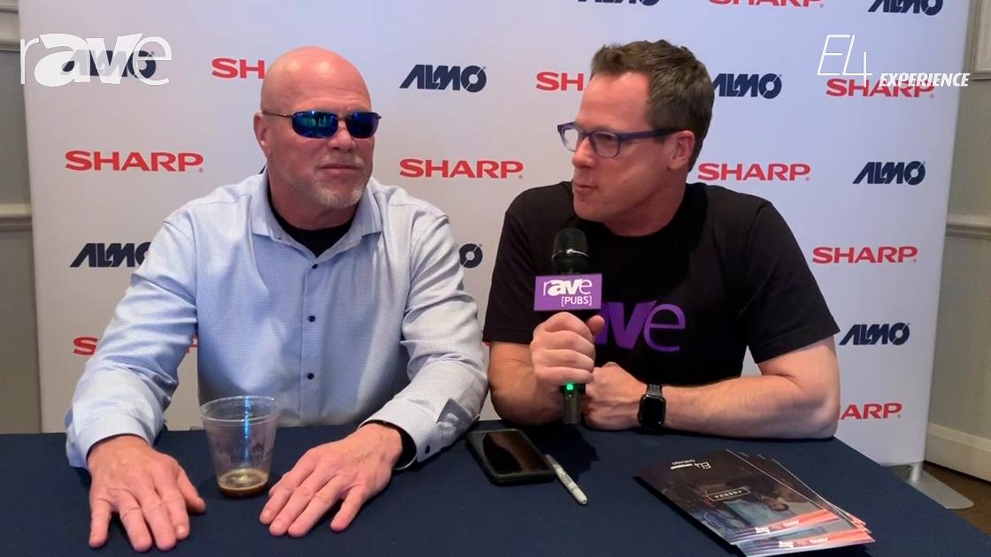 E4 Experience: Gary Kayye Interviews Jim McMahon at Chicago Almo ProAV E4 Experience