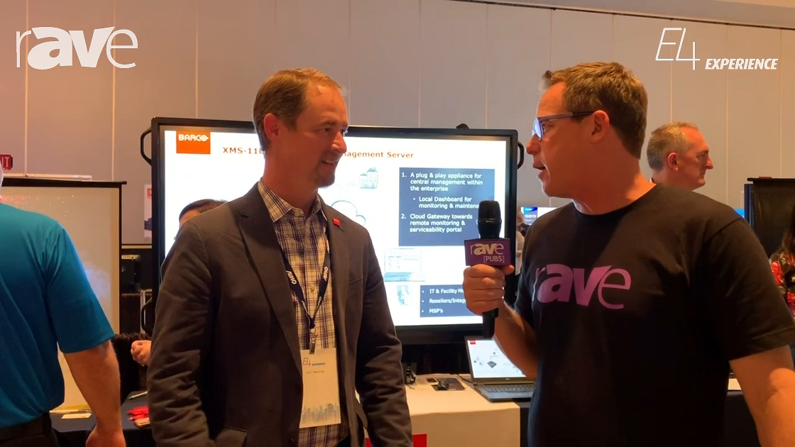 E4 Experience: Gary Kayye Interviews Kurt DeYoung, VP Channel Sales at Barco
