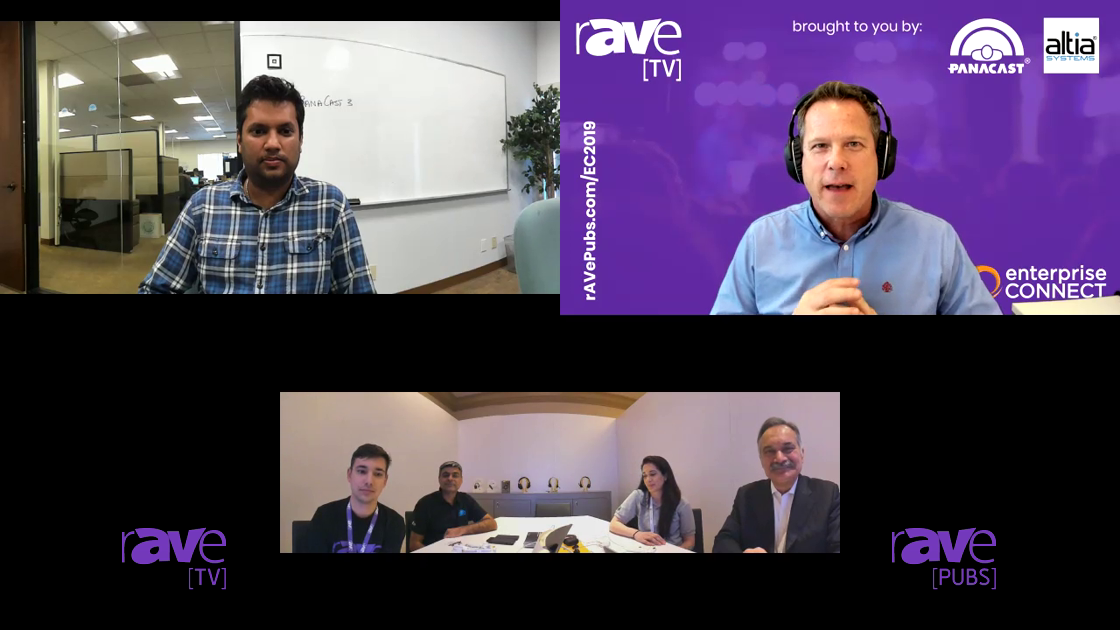 EC 2019: rAVe TV Enterprise Connect Day 1 With Altia Systems