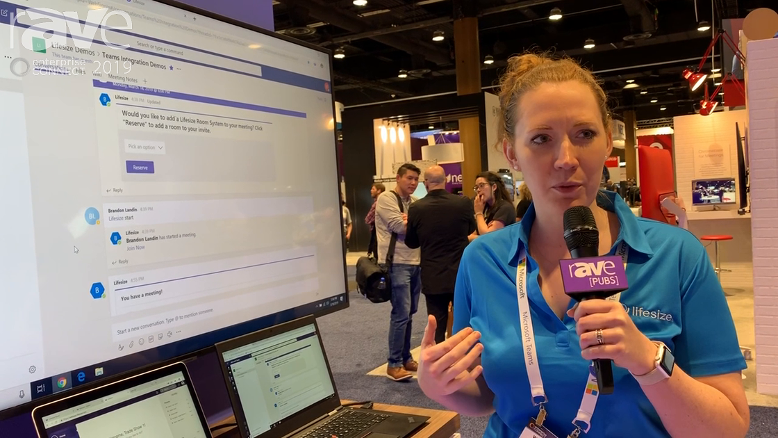 EC 2019: LifeSize Talks About Microsoft Teams Integration for Workspace Collaboration