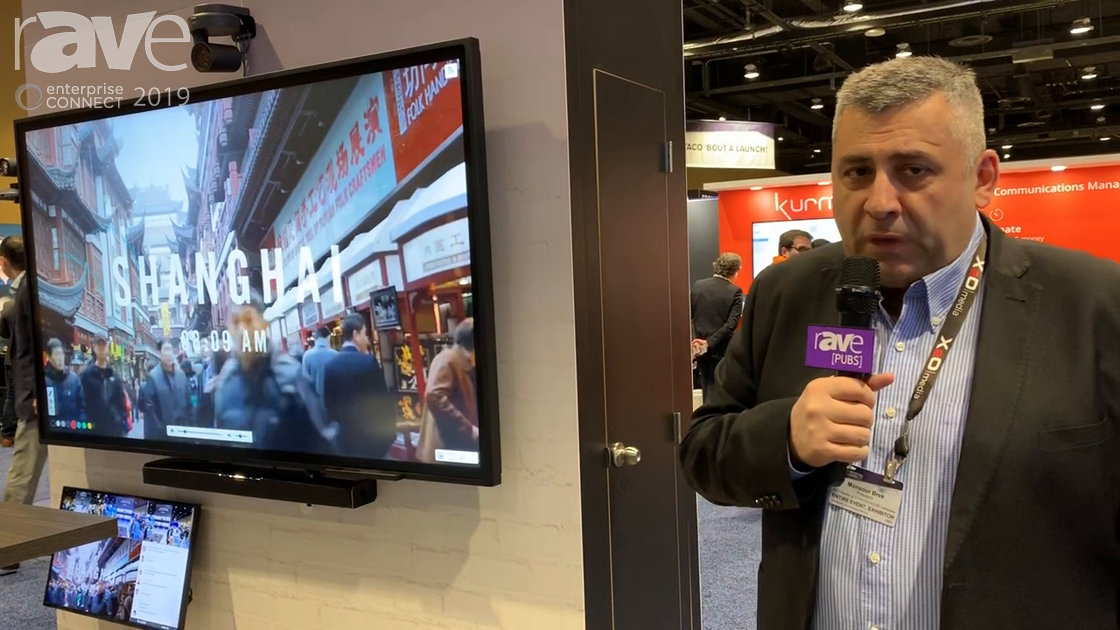 EC 2019: X2O Media Showcases Virtual Classroom With Camera, Directional Audio and Smart Whiteboard