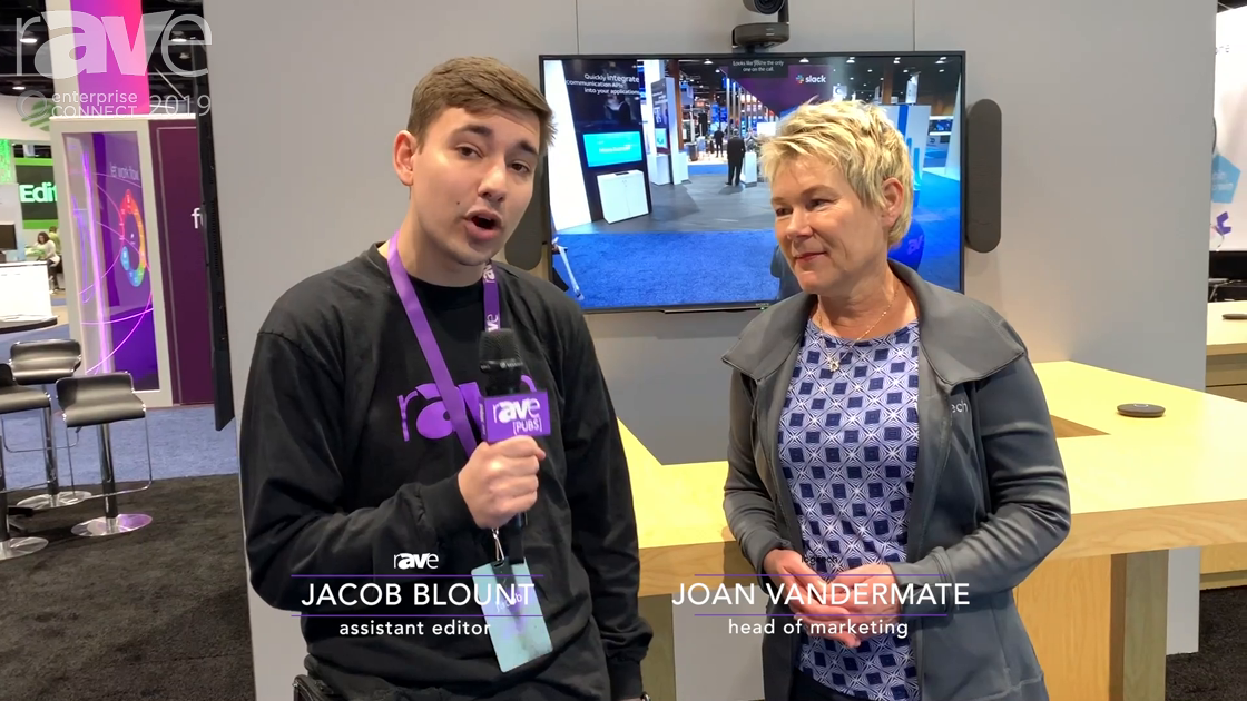 EC 2019: Logitech's Joan Vandermate Talks to Jacob Blount, Talks Tap, Rally Products & Partnerships