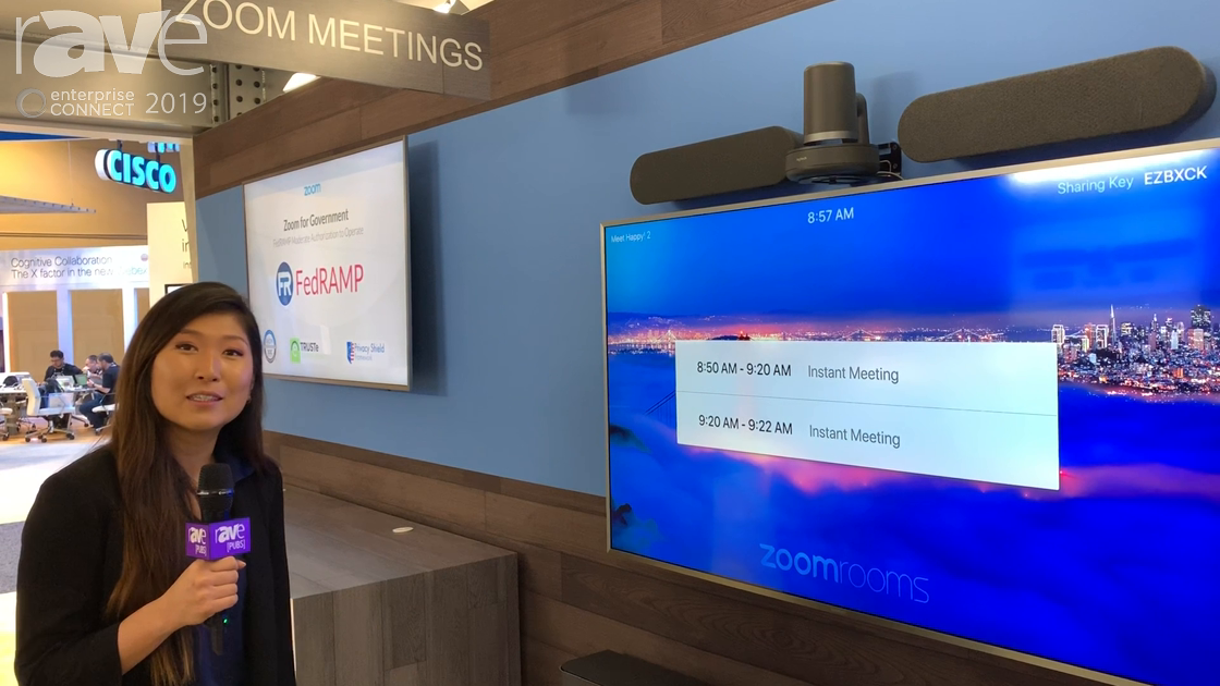 EC 2019: Zoom Highlights Logitech Solutions for Zoom Rooms