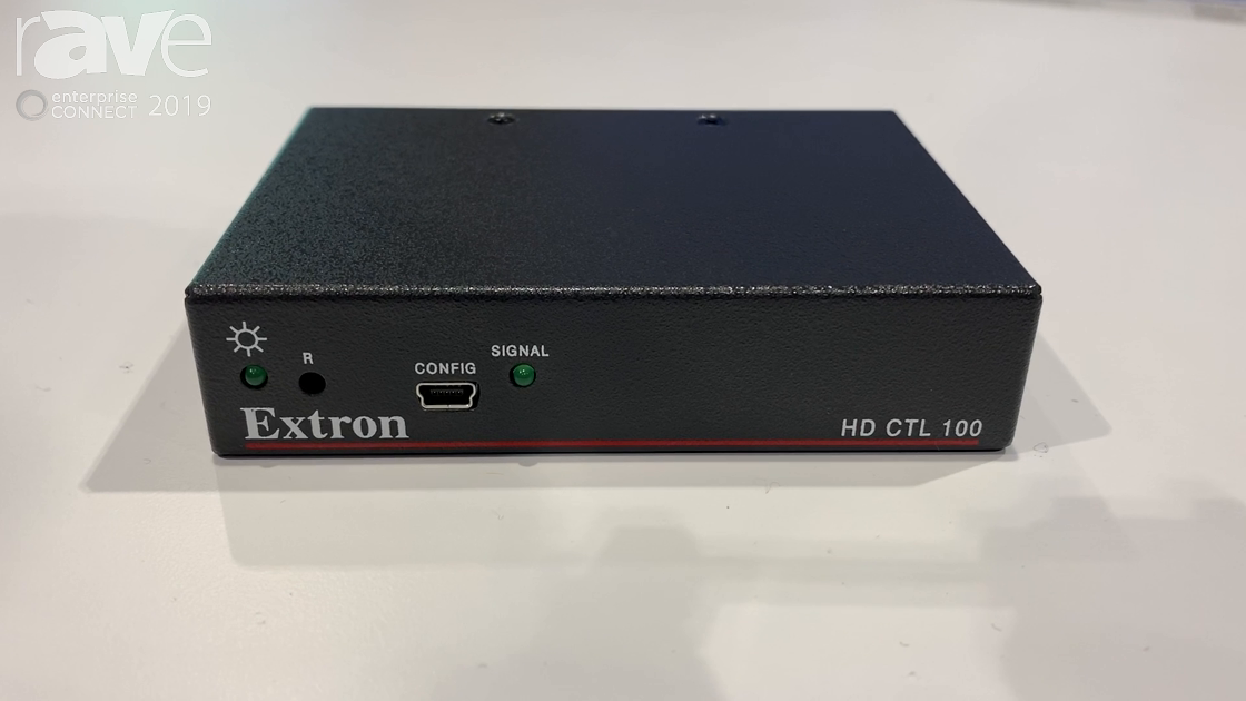 EC 2019: Extron Presents Its HD CTL 100 Automation Controller