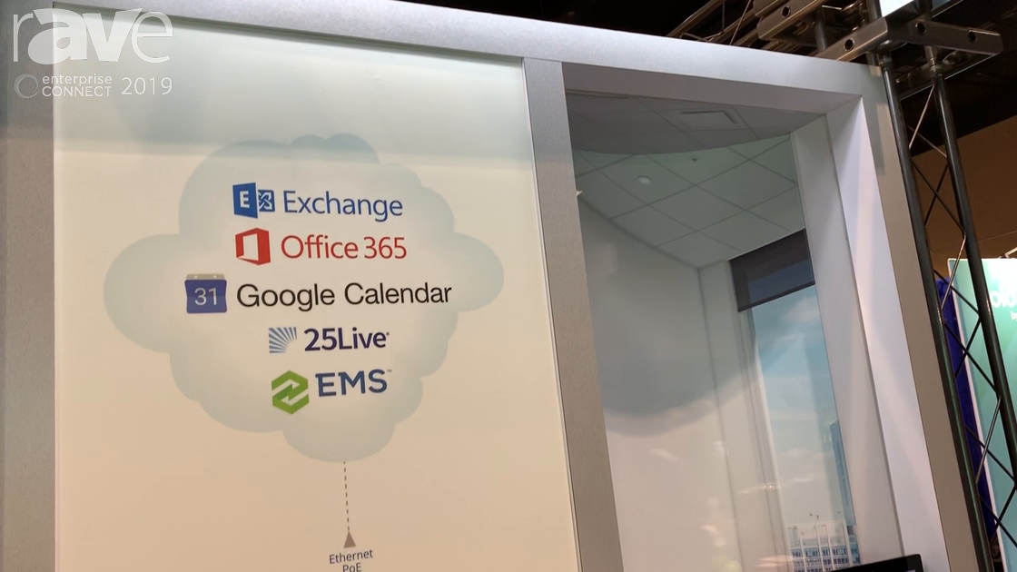 EC 2019: Extron Shows Off Its TLS 725M Room Scheduling Solution