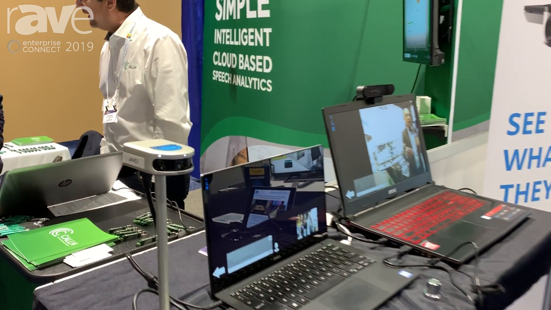 EC 2019: Altia Systems Demos Panacast 2 Camera With Gaze-Based Video Tracking