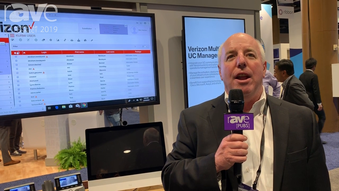 EC 2019: Verizon Shows Off Verizon Multivendor UC Management Platform and One Talk Dialer