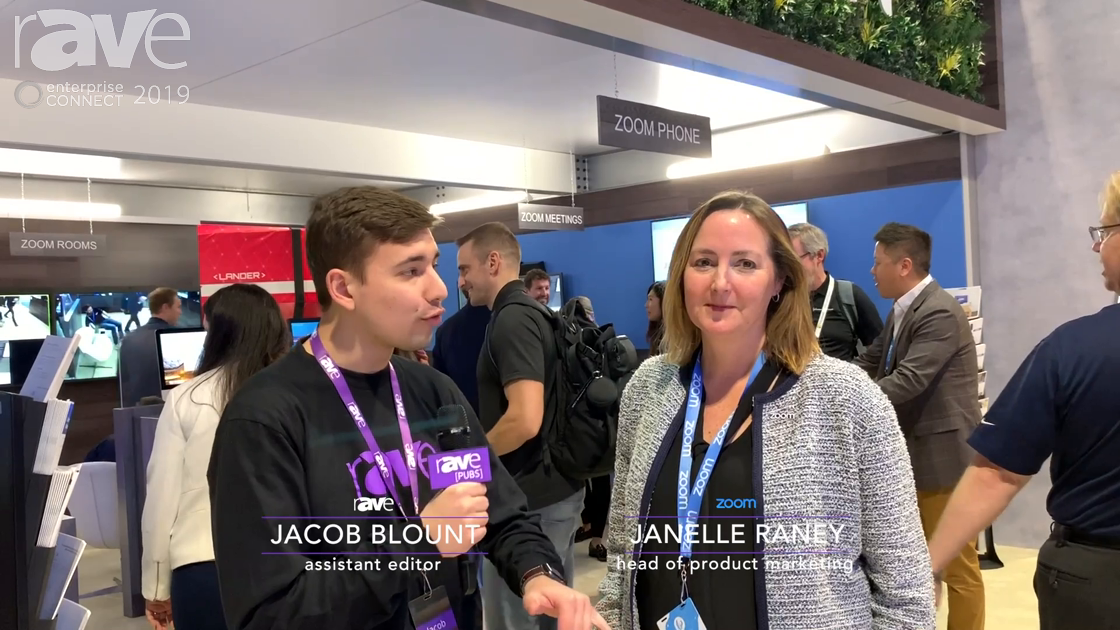 EC 2019: Janelle Raney of Zoom Speaks with Jacob Blount, Talks Zoom at EC and Partnerships