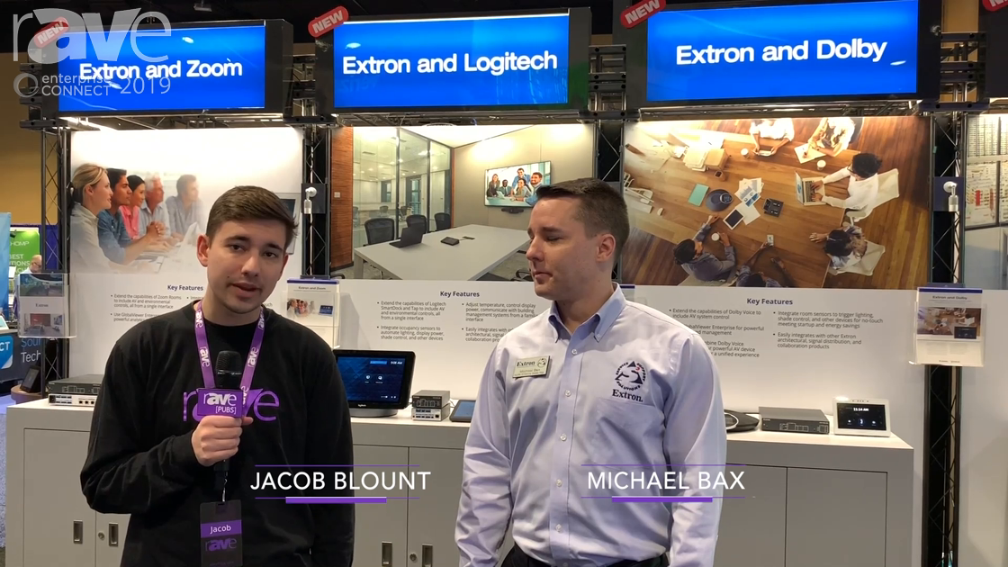 EC 2019: Extron's Michael Bax Talks to Jacob Blount About Partnerships and Extron at the Show