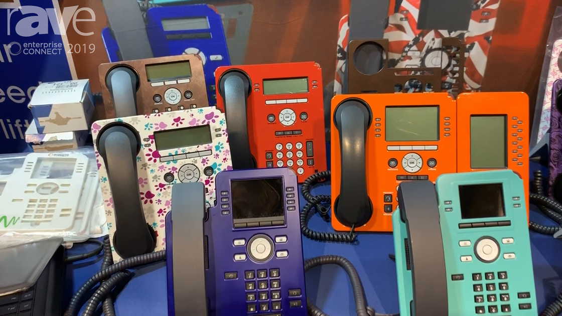 EC 2019: Desk Phone Designs Presents Unique Phone Covers for Offices