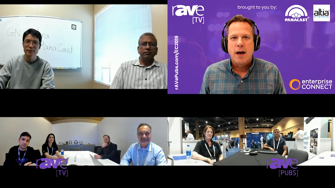 EC 2019: rAVe TV Enterprise Connect Day 3 With Altia Systems