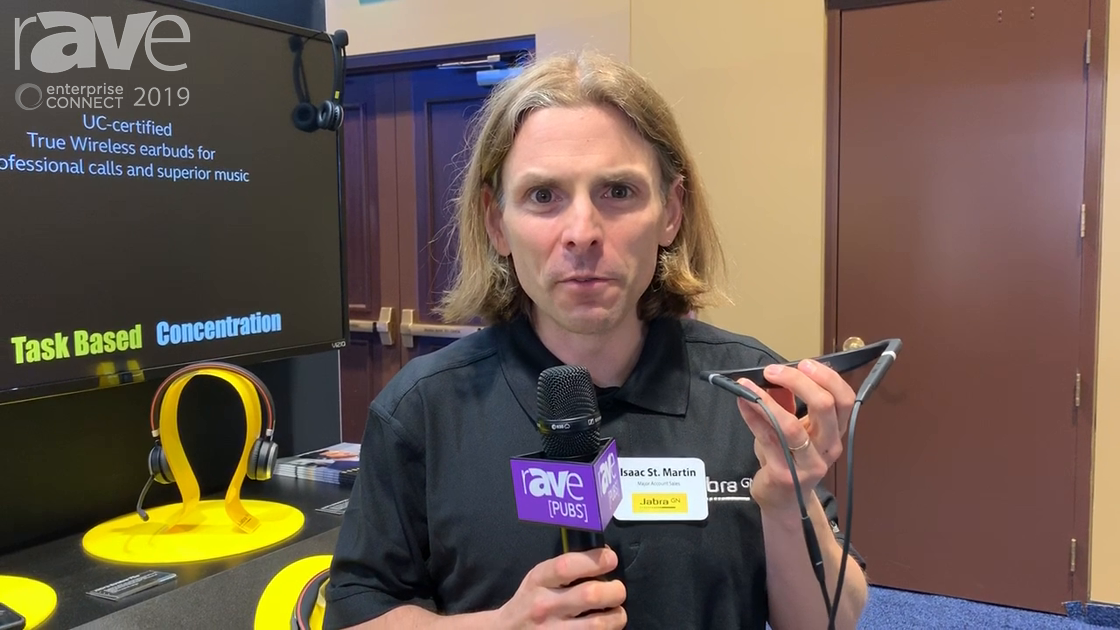 EC 2019: GN Audio Showcases Evolve 75e Series Earbud-Based Headset