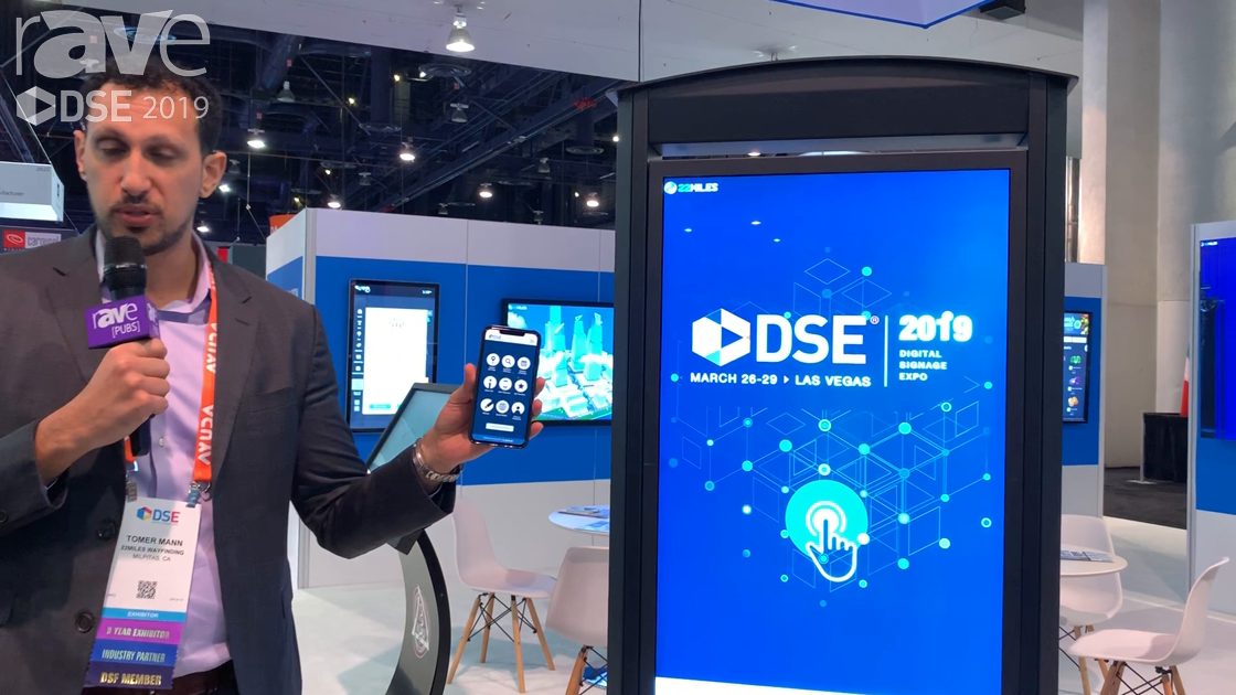DSE 2019: 22MILES Demos the Official DSE App Incorporating Augmented Reality Wayfinding