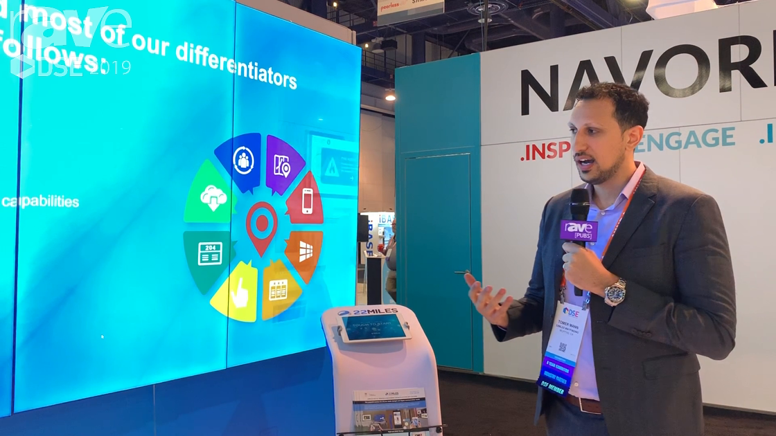 DSE 2019: 22MILES Demos Send/Receive Capabilities for DS Applications Using Users' Own Devices