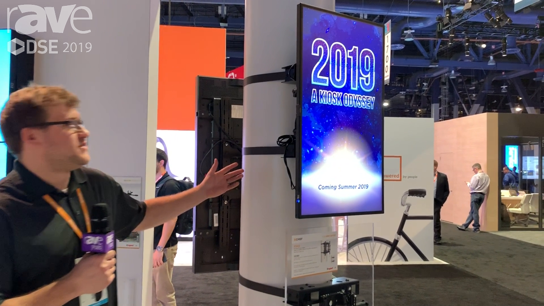 DSE 2019: Chief Intros Structural Column Adapter for Using Standard Display Mounts on Large Columns