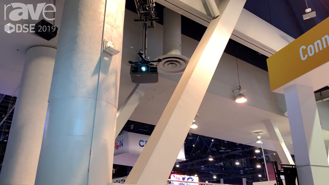 DSE 2019: Chief Intros Smaller, More Attractive VCT Projector Ceiling Mount for Large Venues