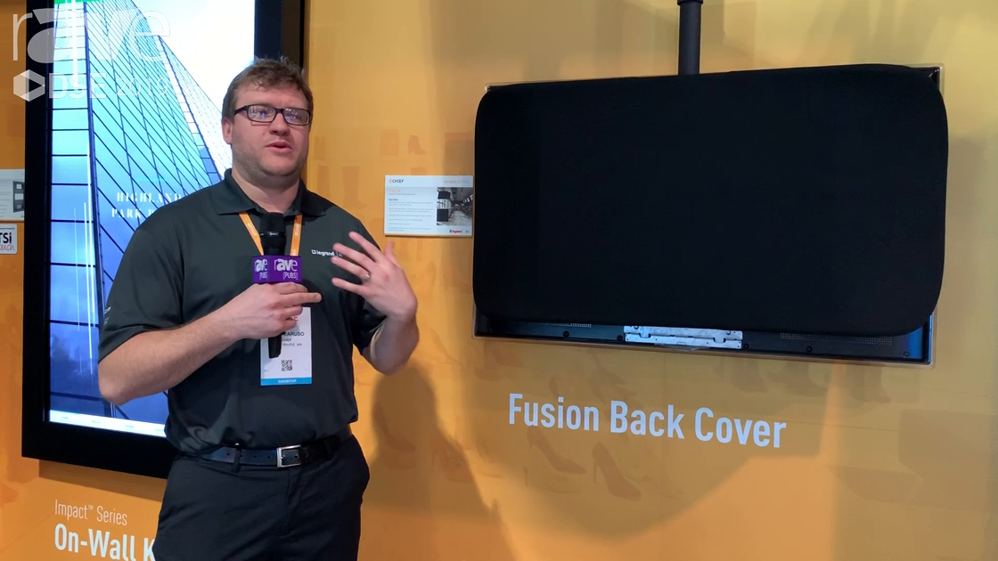DSE 2019: Chief Features Its Fusion Universal Back Cover for Cleaner Back-of-Panel Aesthetics