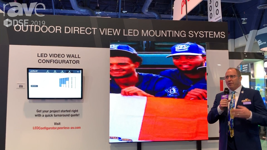 DSE 2019: Peerless-AV Talks About Its Display Mounting Systems for Minor League Baseball Stadiums