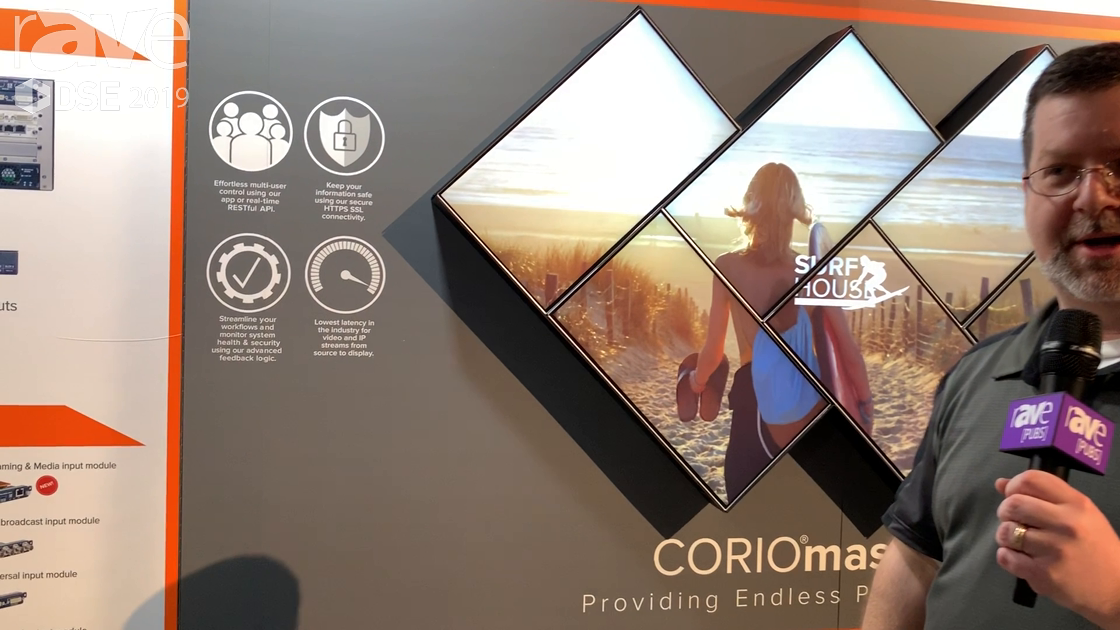 DSE 2019: tvONE Showcases Its Flagship CORIOmaster Modular Video Wall Processor