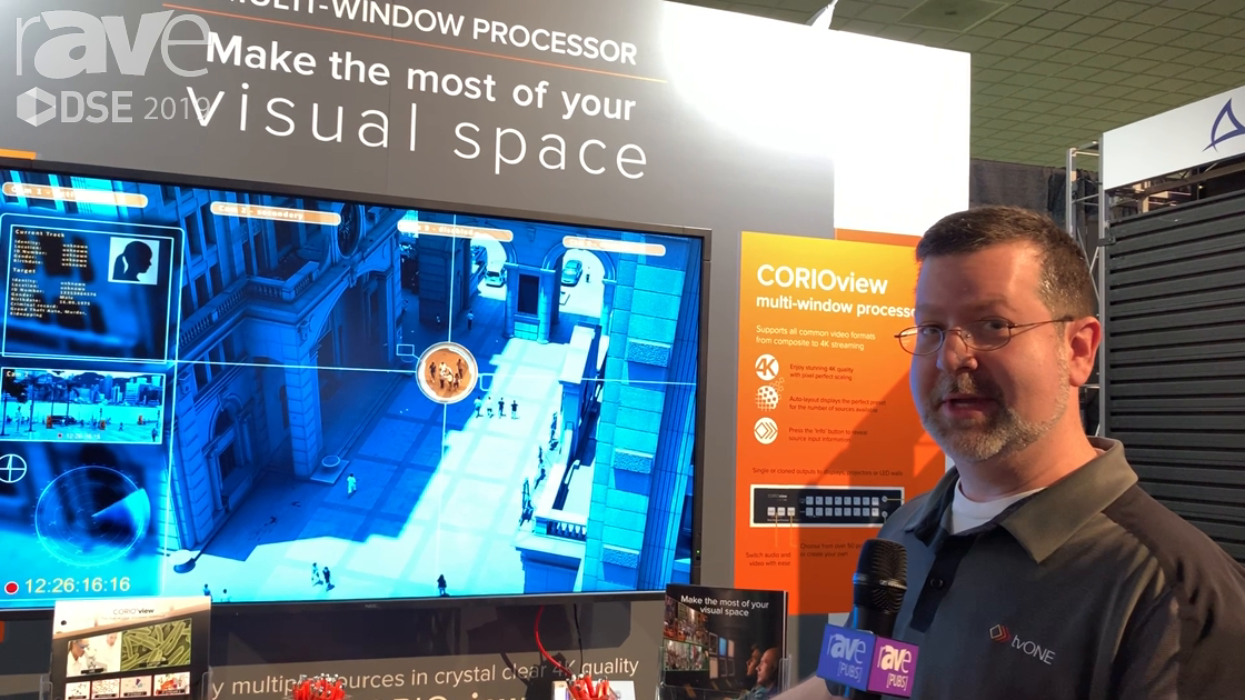 DSE 2019: tvONE Showcases the New CORIOview 4K Multiviewer