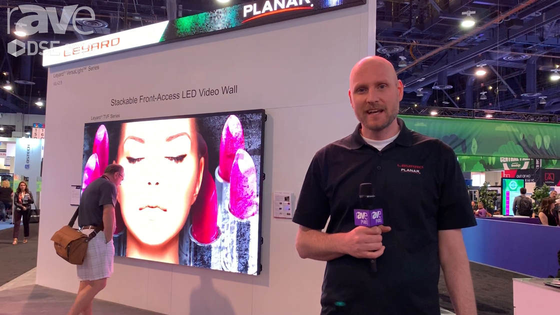 DSE 2019: Leyard Planar Shows the TVF Series, VersaLight Series, VVRO Series of Video Wall Displays