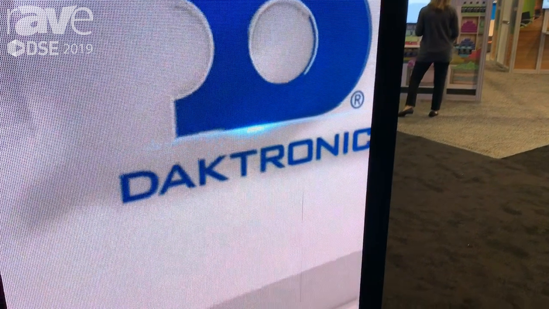 DSE 2019: Daktronics Showcases Its 2.9mm LED Display for Digital Street Furniture