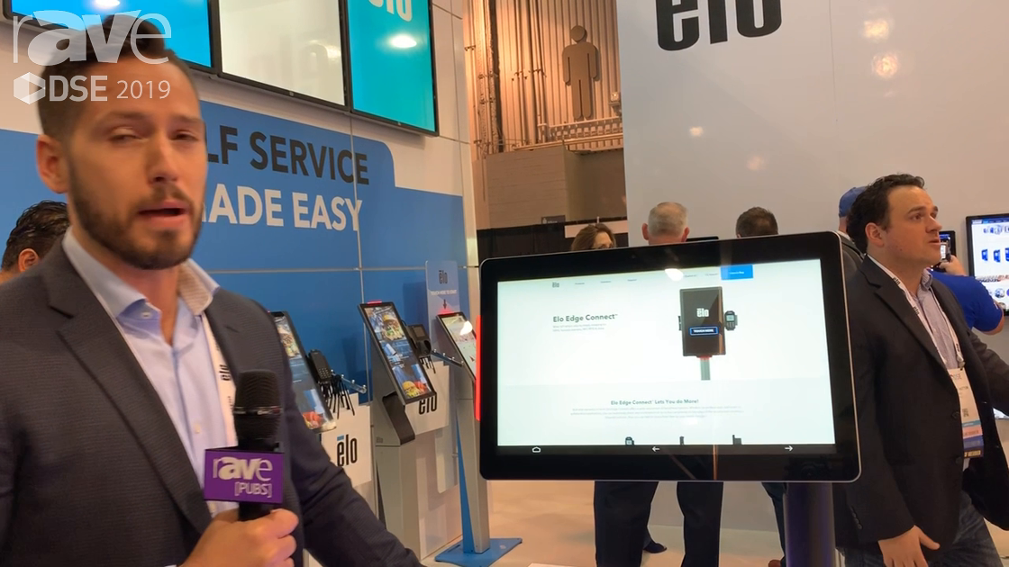 DSE 2019: Elo Touch Solutions' Elo Edge Connect Allows Peripherals to Be Easily Added to DS Displays