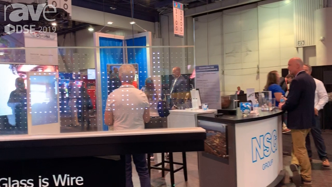 "DSE 2019: NSG Group Demos ""Glass Is Wire"" Display With NSG Tech Coating That Conducts Electricity"
