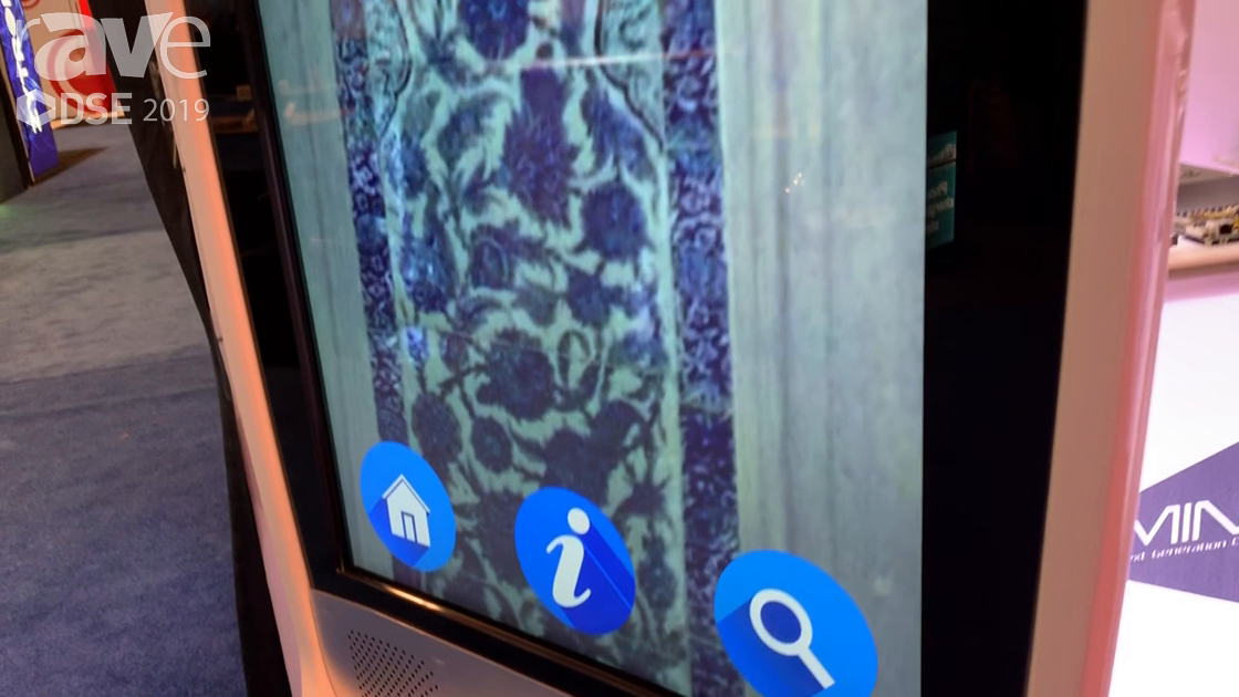 DSE 2019: OEM Production Showcases Its Custom Designed 49″ Digital Signage Kiosk