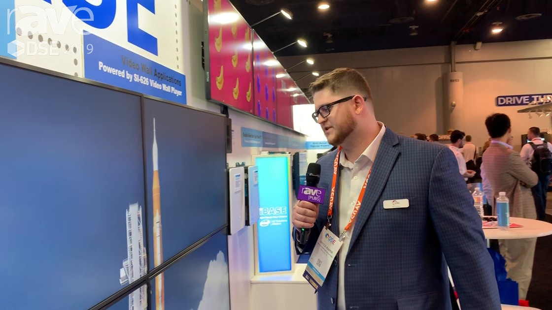 DSE 2019: RMG Networks Shows Its CMS Korbyt That Leverages Open Source Content in the iBASE Booth