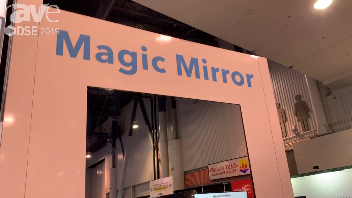DSE 2019: Retail Tech X Demos Magic Miror Featuring User Generated Content (UGC)