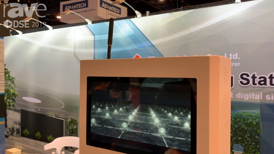 DSE 2019: Winnsen Industry Co Highlights Its Smart Phone Mobile Charging Station With Touch Display