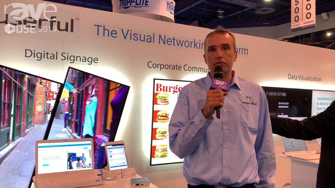 DSE 2019: Userful Talks Visual Networking Platform for Managing DS, Collaboration and More