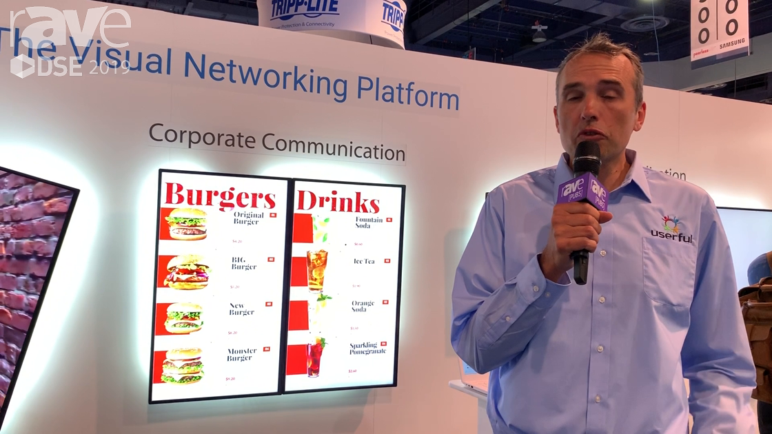 DSE 2019: Userful Talks About Digital Signage Software Solutions for Corporate Communication