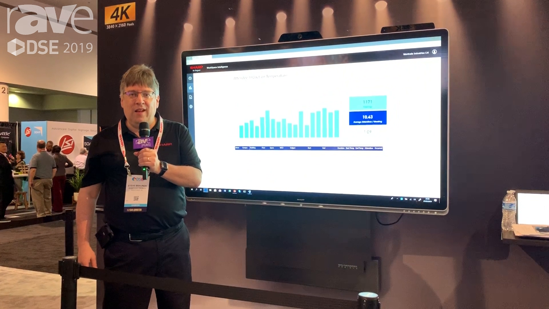 DSE 2019: Sharp Talks About Windows Collaboration Display Partnership With Smart Office Technology