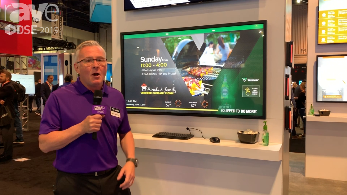 DSE 2019: Visix Demos Interactivity for Higher Education Applications in Its AxisTV Signage Suite