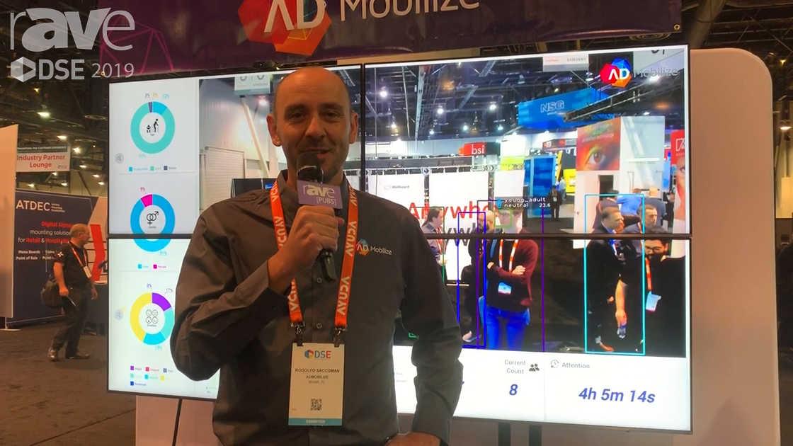 DSE 2019: AdMobilize Audience Analytics Technology Tracks Age, Gender, Emotion