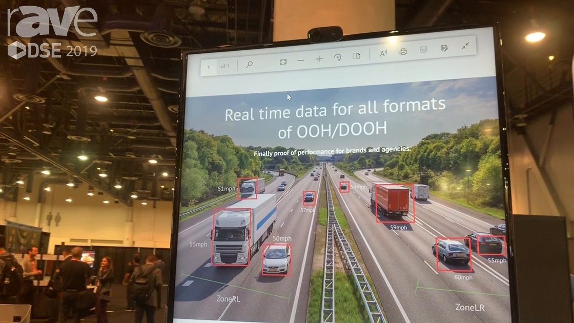 DSE 2019: AdMobilize Shows Vehicle Intelligence for Counting Number, Type, Speed of Cars Passing By