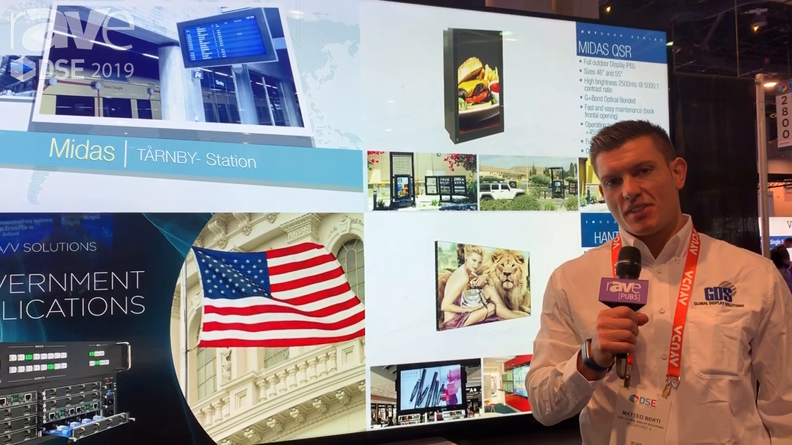 DSE 2019: GDS – Global Display Solutions Shows Its 98″ Digital Signage Display With Optical Bonding