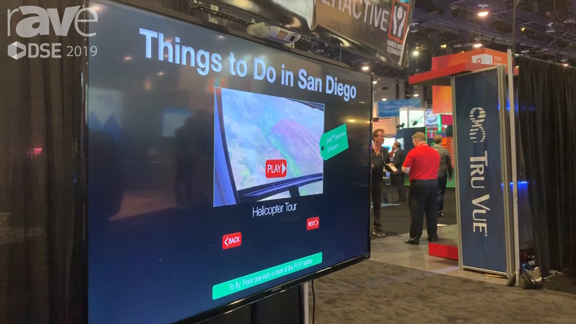 DSE 2019: Hitachi Demos Its No-Touch Interactive TelekinEASY Signage