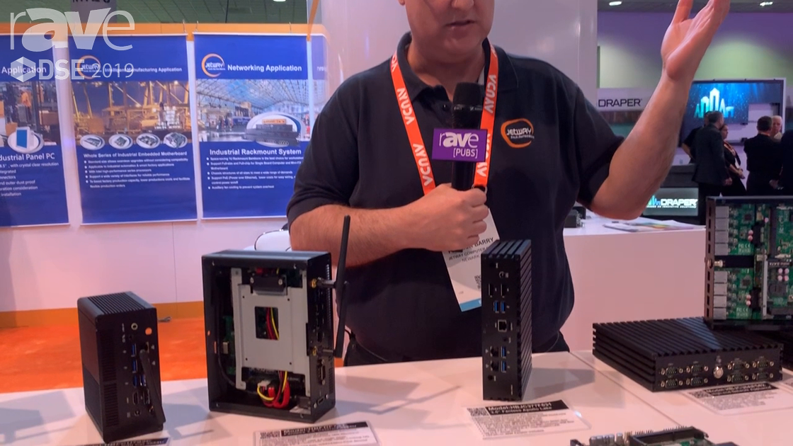 DSE 2019: Jetway Computer Showcases Its HBJC377F631 Fanless Apollo Lake