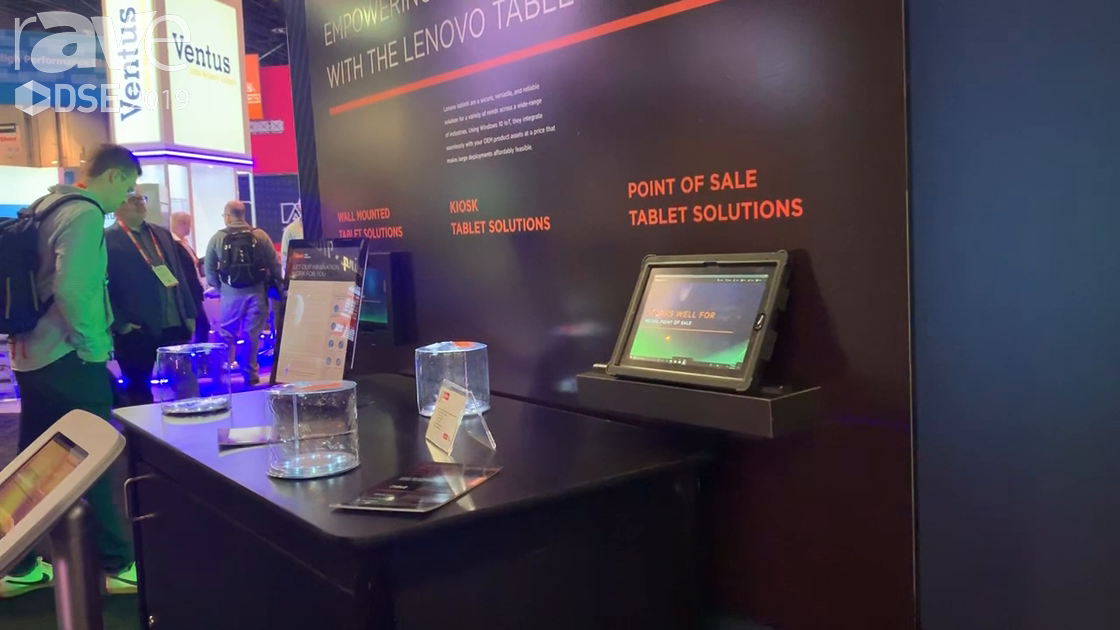 DSE 2019: Lenovo Showcases Its Weatherproof 10″ Mobile Tablet