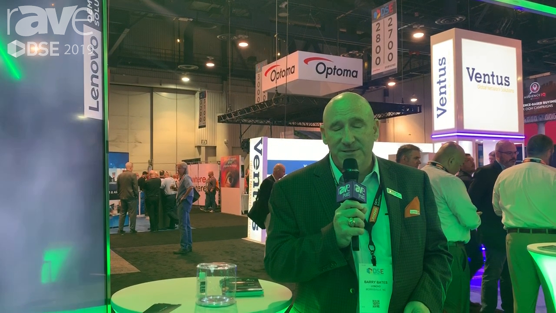 DSE 2019: Lenovo Talks About OEM Solutions Offering for Digital Signage Market