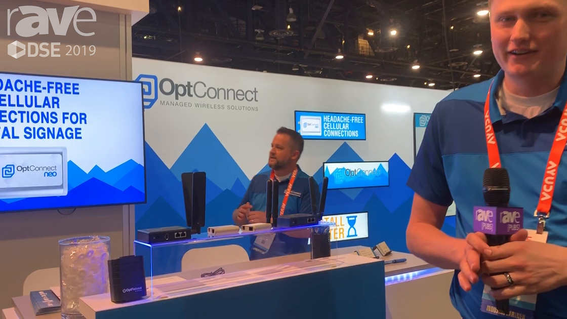 DSE 2019: OptConnect Features the neo Tiny, Fully Managed, Cellular Wireless Router