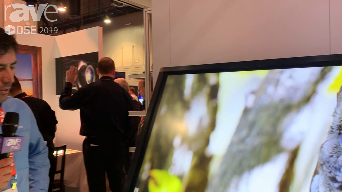 DSE 2019: Optoma Showcases Its 75″ IFP Creative Touch Interactive Flat Panel With Embedded Android