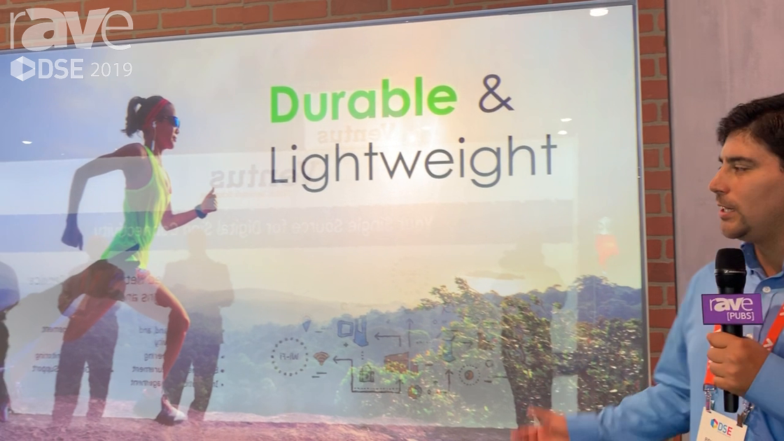 DSE 2019: Optoma Demos ZK1050 10,000-Lumen 4K Projector in Combination With LCD Display for Retail