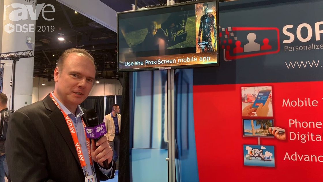 DSE 2019: Sophatar's ProxiScreen Proximity Digital Signage Offers Individualized Analytics