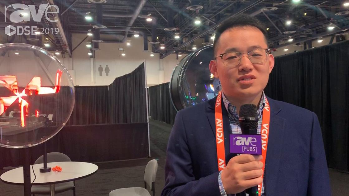DSE 2019: Shenzhen Frida Demos Its LCD 3D Fan Display