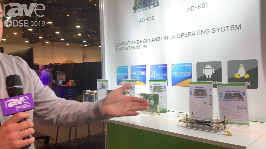 DSE 2019: SUNCHIP Talks About Its AD-K01 Industrial Video Board